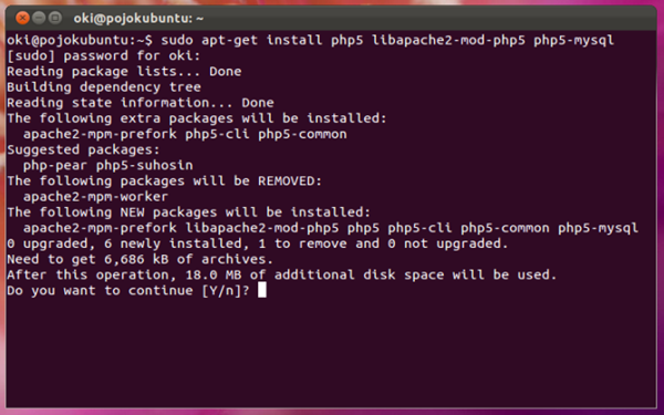 install-php5