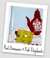 Red Dinosaurs & Pink Elephants