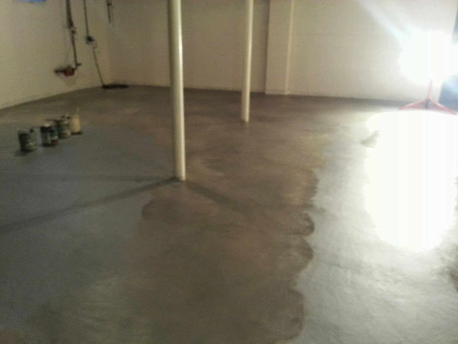 Finished Faux Floor Tonight. Tomorrow Nothing On My Day Planner.