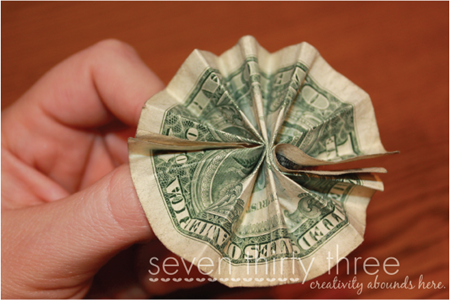 diy money bouquet