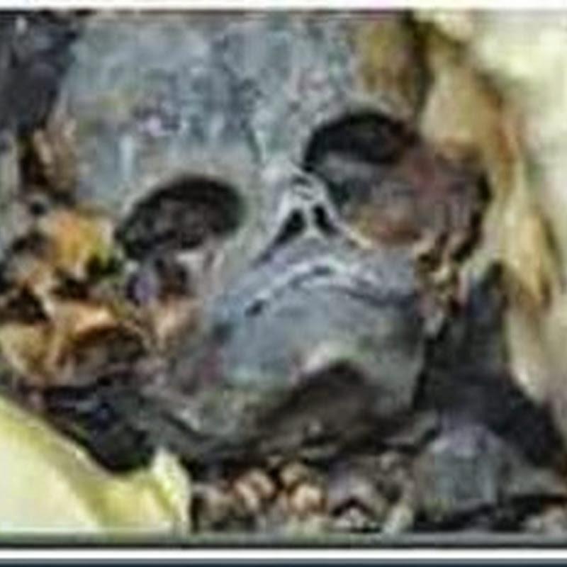 Outra Múmia com Características Alienígena Encontrada no Egito