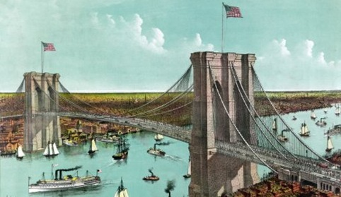 07 brooklyn bridge currier and ives 1890