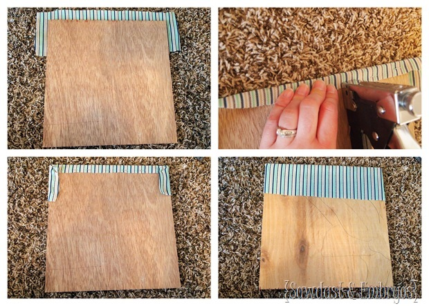 Organize your paper mess on the inside of a cabinet door! {Sawdust and Embryos}