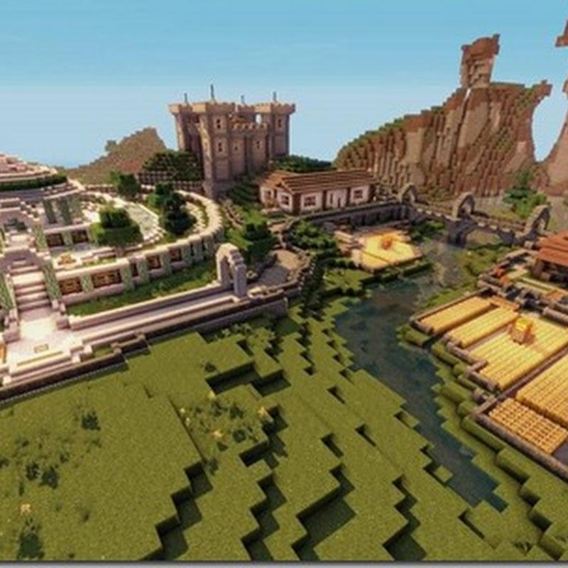 Minecraft 1.5.2 - Guruth's Medieval / Fantasy Remix Texture pack 64x