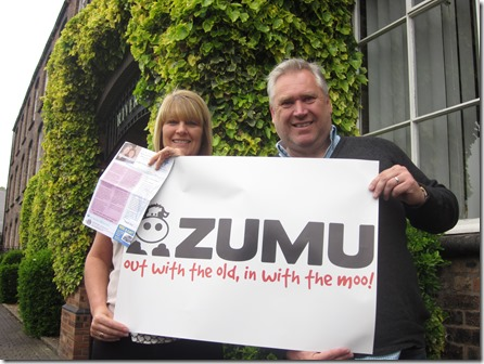 St Luke's Diane Eeley and Zumu UK Neil Ouzman