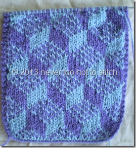 2010 double knitting scarf bib