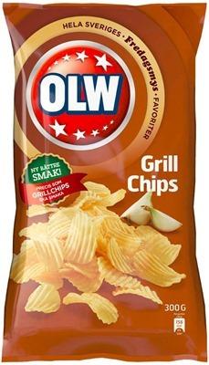 OLW Grillchips med ny smak