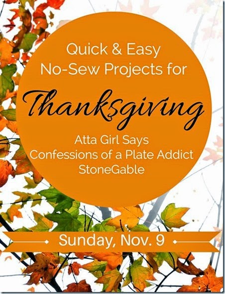 No-Sew Thanksgiving Showcase 2014