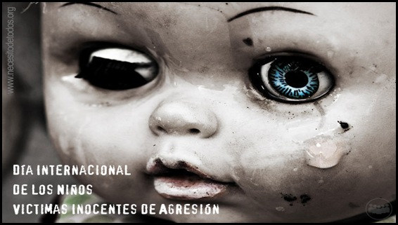 ... de los niños víctimas inocentes de agresión
