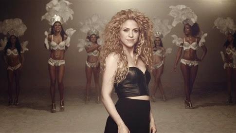 Shakira - La la la (Mundial Brasil 2014)