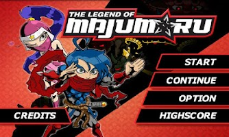 Screenshot of Legend of Majumaru