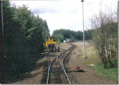 Weyerhaeuser Woods Railroad (WTCX) at the Weyerhaeuser Regional Landfill Facility on May 17, 2005