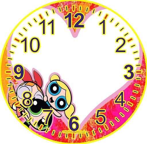 Relojes con personajes de dibujo para la pared - Hacer reloj de pared con fotos ...