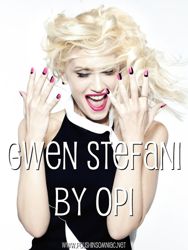 Sneak Peak: Gwen Stefani for OPI