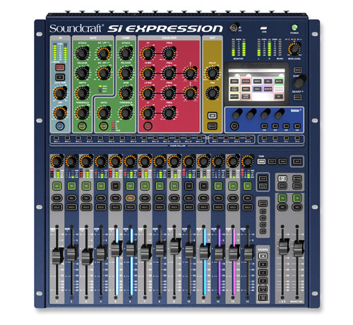Soundcraft Si Expression 1 Top 500