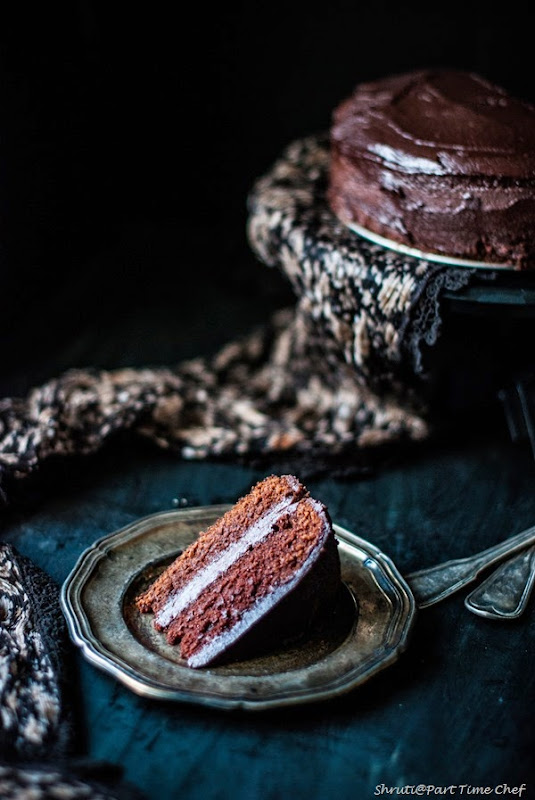 Dark Chocolate cake-2