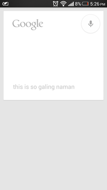 Google Now Filipino 2