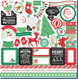 Christmas Cheer Stickers-embedded