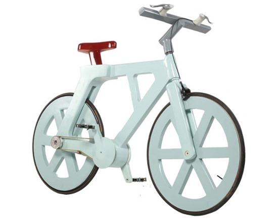 Bicicleta de papelão 09