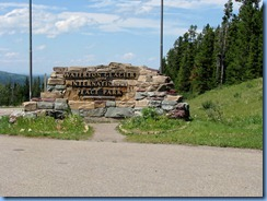 1528 Alberta Hwy 6 North - Waterton Lakes National Park - Waterton Glacier International Peace Park sign