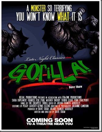 Gorilla-Poster