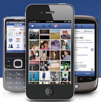 Facebook para celulares