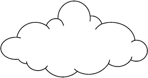 Dibujos infantiles para colorear de nubes imagui - Imagenes de nubes infantiles ...