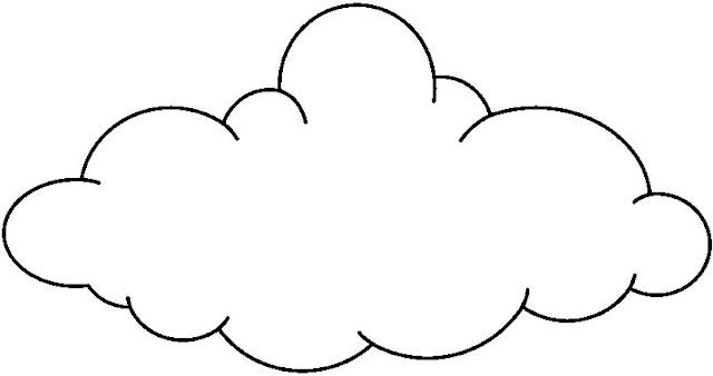 Colorear dibujos de nubes - Imagenes de nubes infantiles ...
