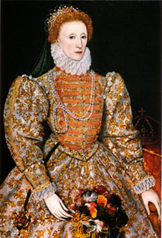 Isabel I retrato Darnley.