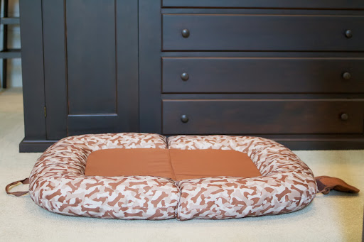 And let's not forget the Piped Pillow Bed with its machine-washable cover and its extra-comfort sleep surface.