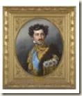 Portrait du prince héritier Oscar Joseph Stieler Collections de S.M. le Roi de Sude