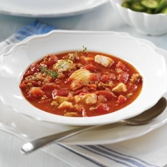 Effortless Tomato Fish Stew