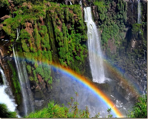 waterfalls and rainbows - Ben Steinberger