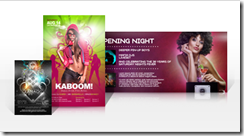 Club Card Flyers