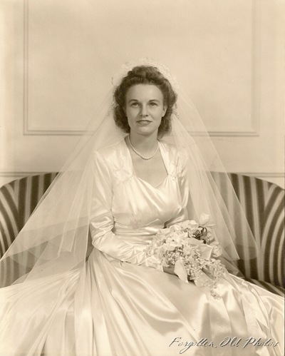 wedding Perham Antiques 1940