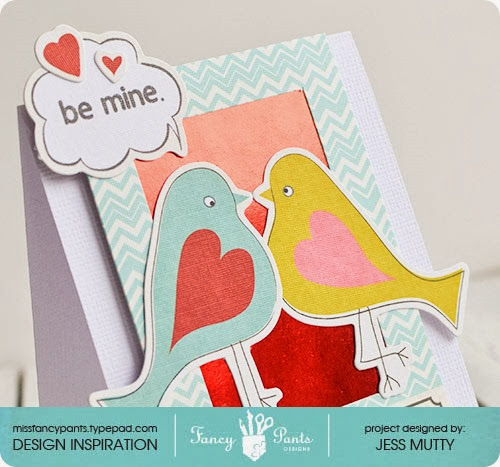 Be Mine Birds detail_Jess Mutty_Fancy Pants Designs