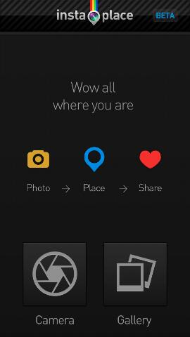 Aplikasi Instaplace untuk Android
