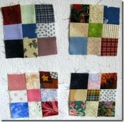 nine-patch blocks