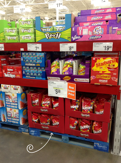 Skittles at Sam's Club
