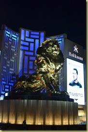 MGM Bronze Lion
