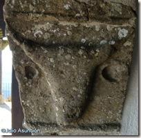 Cabeza de toro en la Ermita de Santa Bárbara