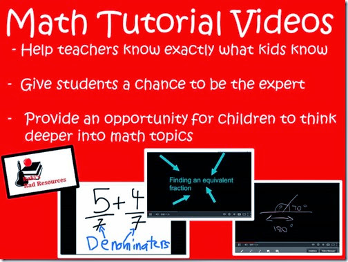 Student created math tutorial videos help you know if the student truly knows what they think they know.  Blog post from Raki's Rad Resources
