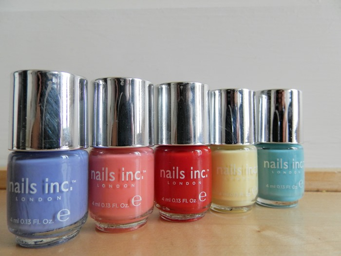 nail ince spring colours