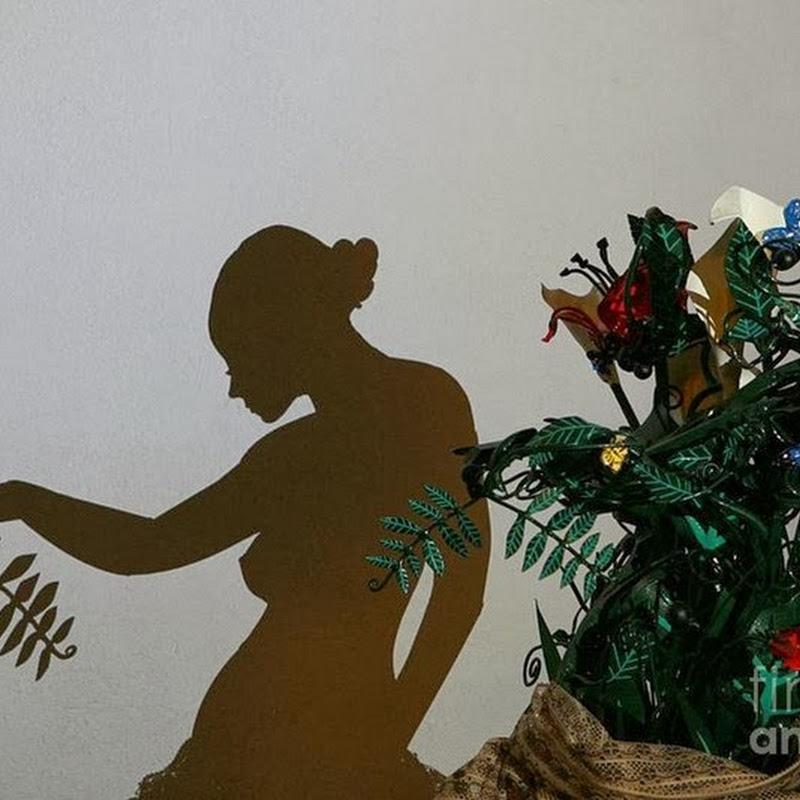 Teodosio Sectio Aurea Creates Art by Casting Shadows