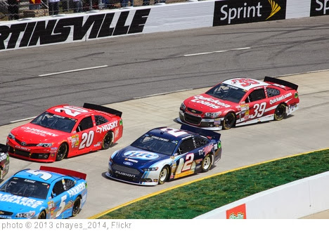 'Brad Keselowski, Matt Kenseth and Ryan Newman, 2013 STP Gas Booster 500' photo (c) 2013, chayes_2014 - license: http://creativecommons.org/licenses/by-sa/2.0/