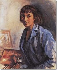 Zinaida-Serebriakova-Self-portrait-4-