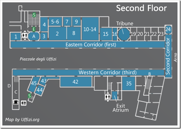 map-second-floor