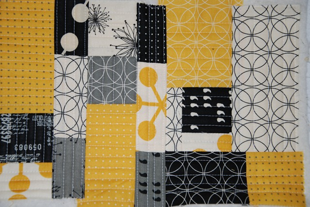 Handschuh für Brigitte Patchwork panel