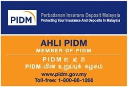 PIDM sign decal