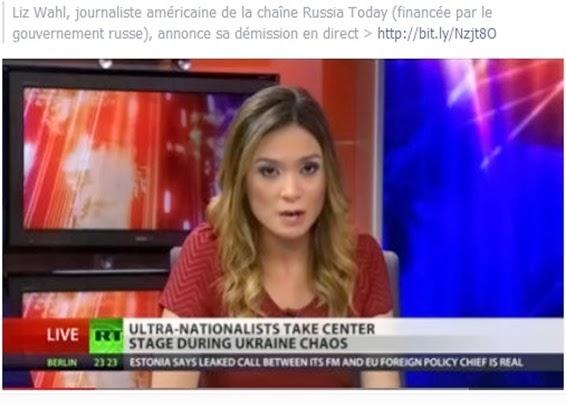 demission d'una jornalista de RT